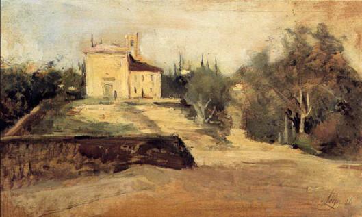 Silvestro Lega, Chiesa di Crespina, 1886