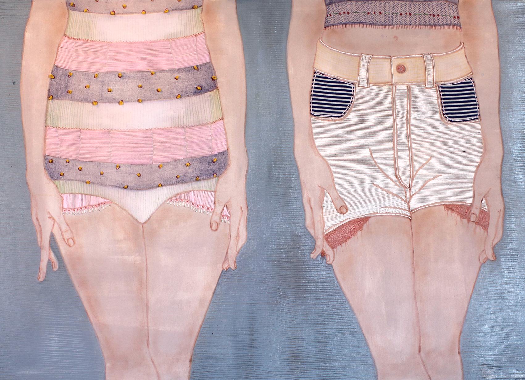 Lucia-Guadalupe-Guillen-Acrilico-matite-e-lana-colorata-su-tela70x100cm-2014.