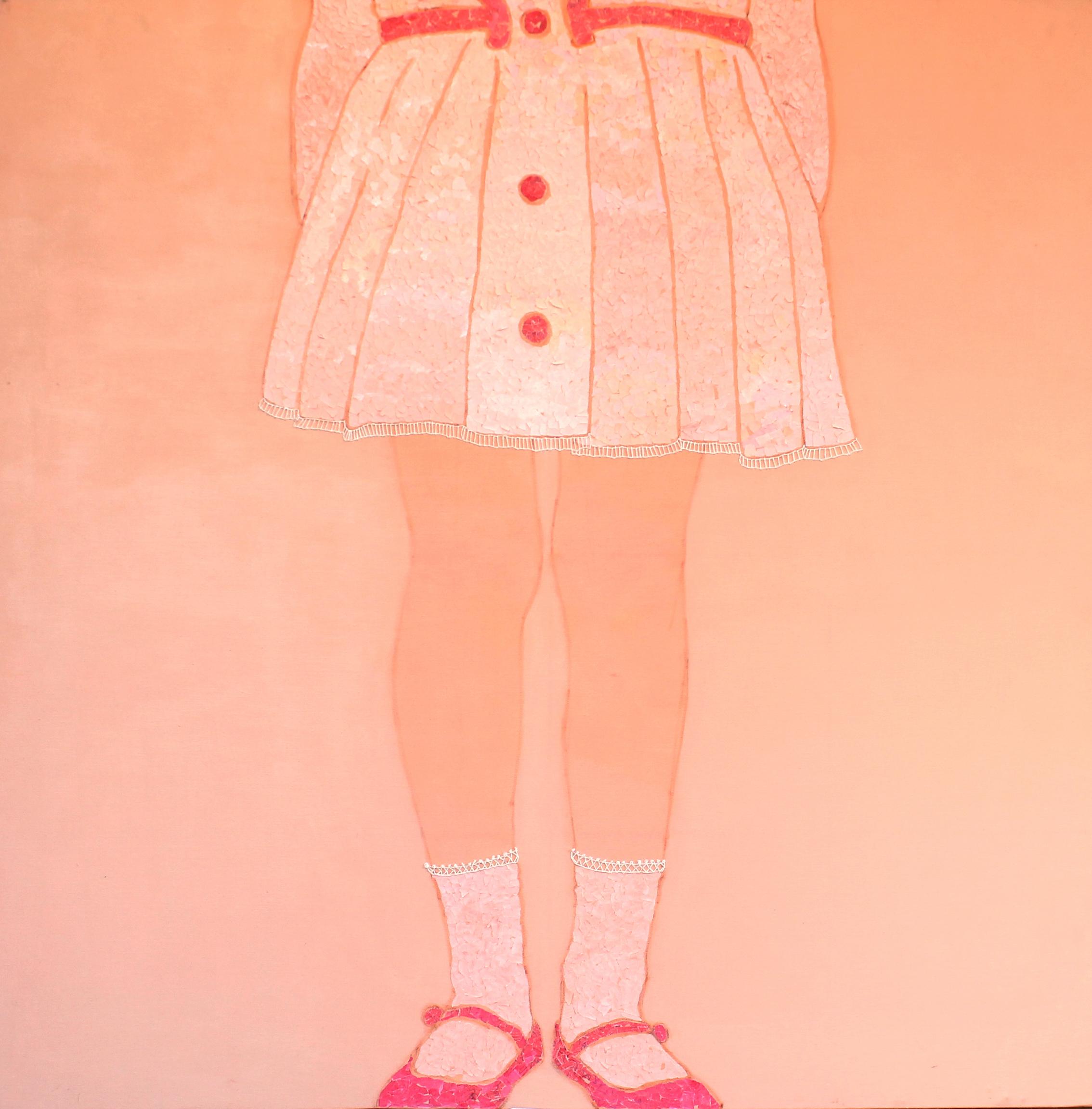 Lucia-Guadalupe-Guillen-acrilco-e-carta-colorata-su-tela-100x100cm-2013.